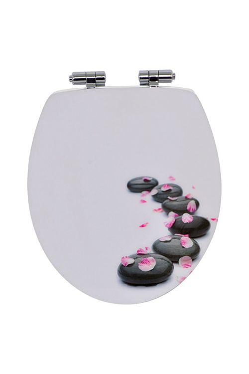 WC deska POSEIDON Spa (MDF, počasno spuščanje, antracit)