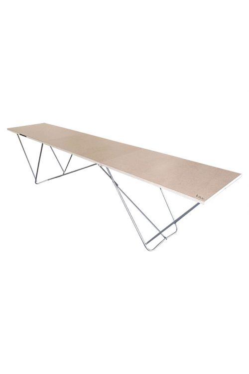 Lesena miza za tapeciranje Eco ( D 3 x Š 0,6 x V 0,72 m)