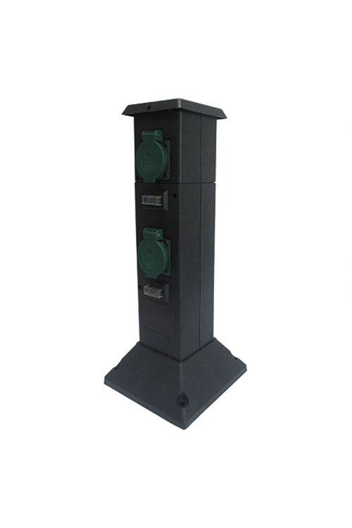 Steber z vtičnicami Voltolux (število varnostnih vtičnic: 4, IP44)