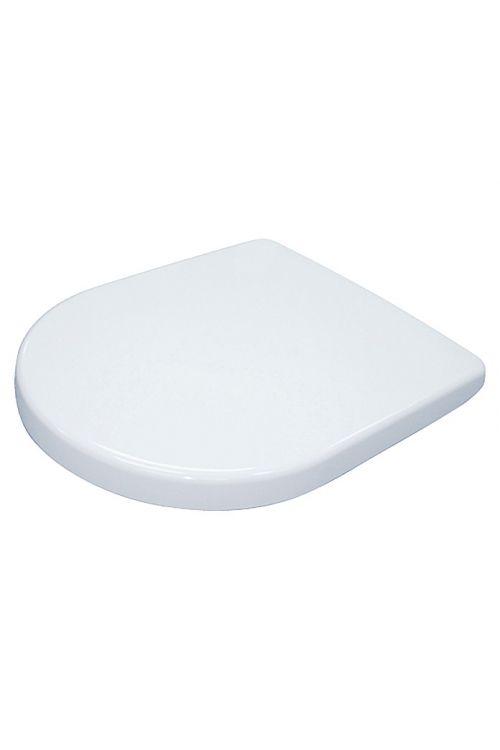 WC deska Camargue Paris (duroplast, počasno spuščanje, snemljiva, bela)
