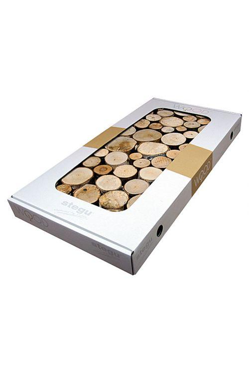 Lesena panelna plošča Pure Wood (pravi les, 380 x 760 mm, debelina: 33 mm, 2 panelni plošči)