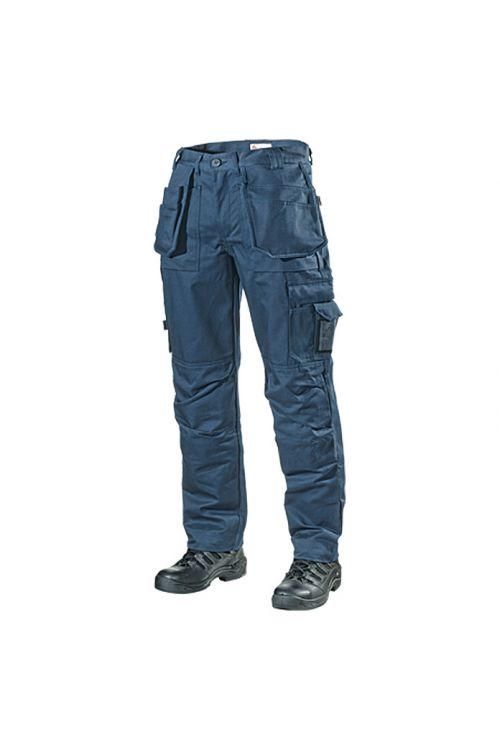 Delovne hlače L.Brador 103B (temno modre, velikost: 52, 100 % bombaž)