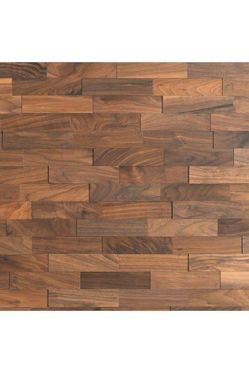 Stenska obloga iz pravega lesa Wodewa (oreh, D x Š x V: 200 x 50 x 2/4/6 mm, vsebina: 1 m²)