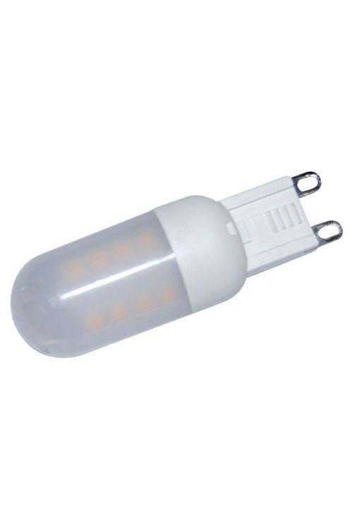 Visokonapetostna LED-sijalka Voltolux (3 W, G9, toplo bela, energetski razred: A+)