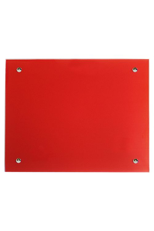 Infrardeči stekleni radiator Admiral (rdeča, 500 W, 70 x 55 cm)