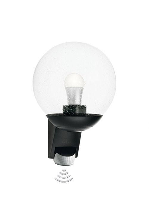 Zunanja senzorska stenska svetilka Steinel L 585 (črna, energetski razred: A++ do E, 60 W, E27)