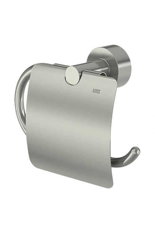 Nosilec toaletnega papirja Scala, Lenz (s pokrovom, nikelj)