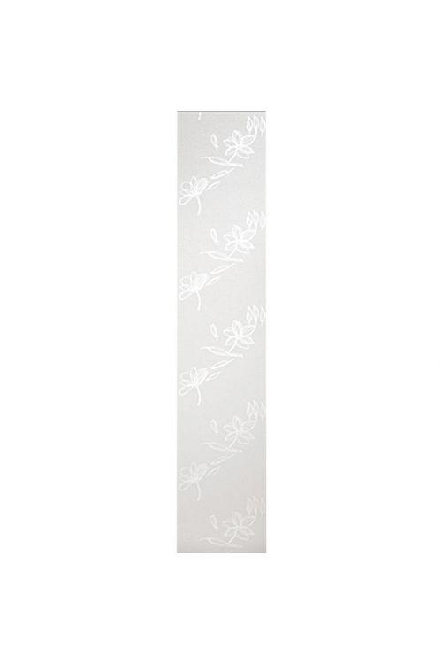 Panelna zavesa Expo Ambiente Flower (60 x 300 cm, bela, 65-odstotni poliester)