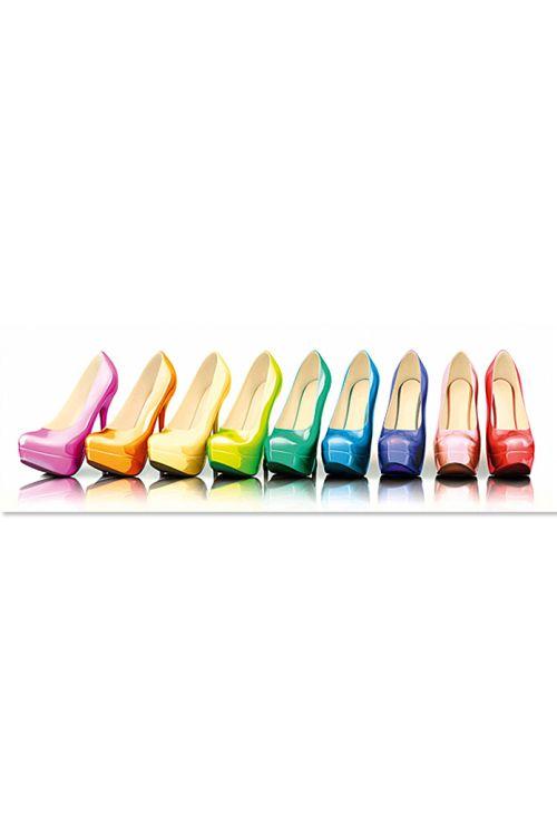 Dekorativni element (Colourful shoes, 118 x 40 cm)