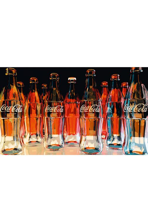 Dekorativni element (Coca-Cola – red eleven, 118 x 70 cm)