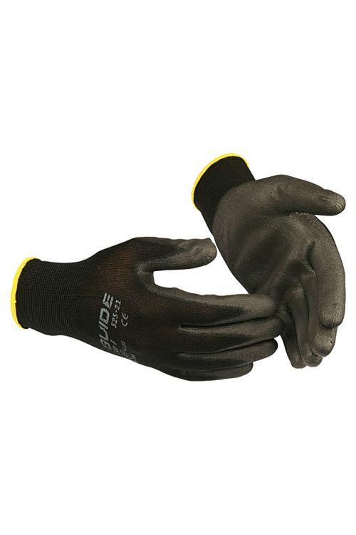 Delovne rokavice Guide 525 (konfekcijska številka: 11, črn)