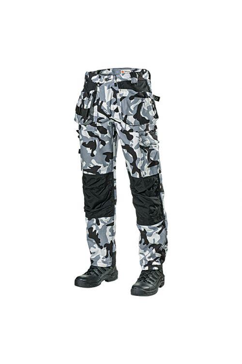 Moške delovne hlače L.Brador 101 B (konfekcijska številka: 52, maskirna barva)