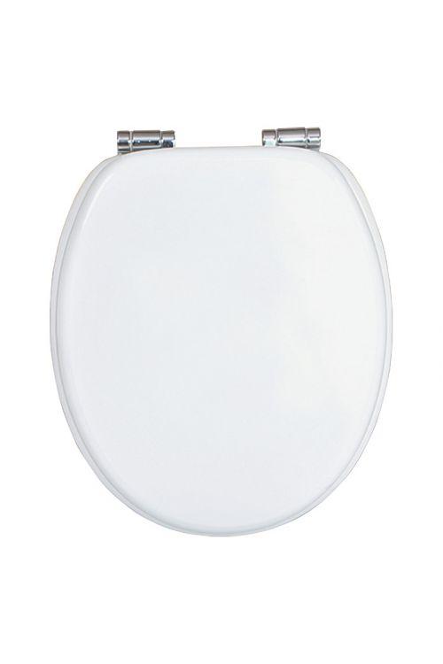 WC deska POSEIDON Sari (MDF, počasno spuščanje, bela)