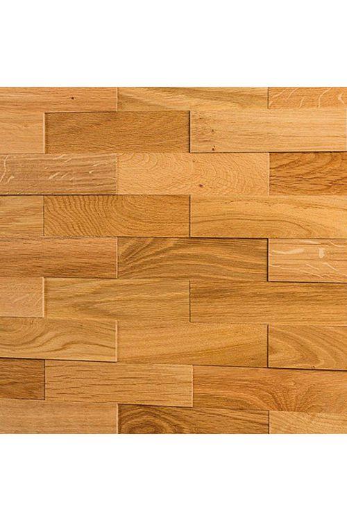 Stenska obloga iz pravega lesa Wodewa (hrast, D x Š x V: 200 x 50 x 2/4/6 mm, vsebina: 1 m²)