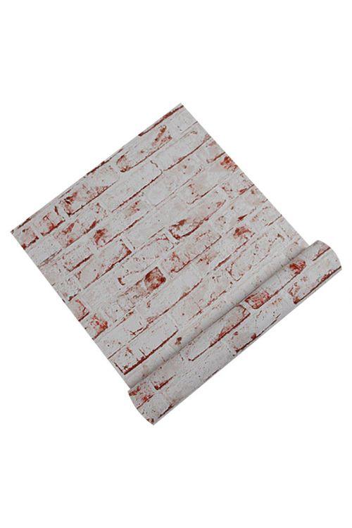 Tapeta iz netkane tekstilije AS CREATION New England (barva: rdečkasta, vzorec: opečna stena)