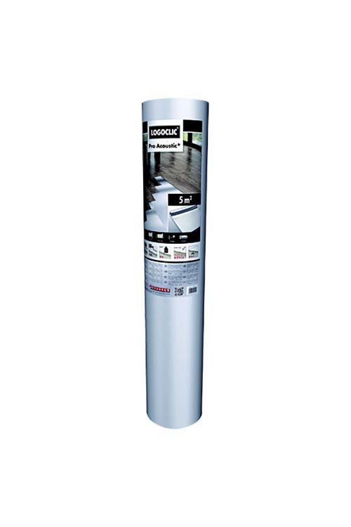 Izolacijska podloga Pro Acoustic+, LOGOCLIC (5 m², d: 2 mm)