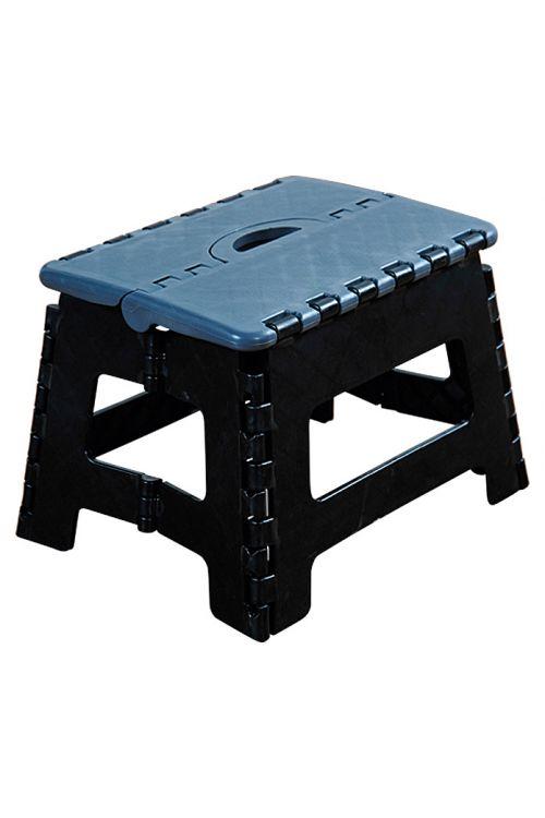 Pručka (višina: 22 cm, obremenljivost: 150 kg, črna)