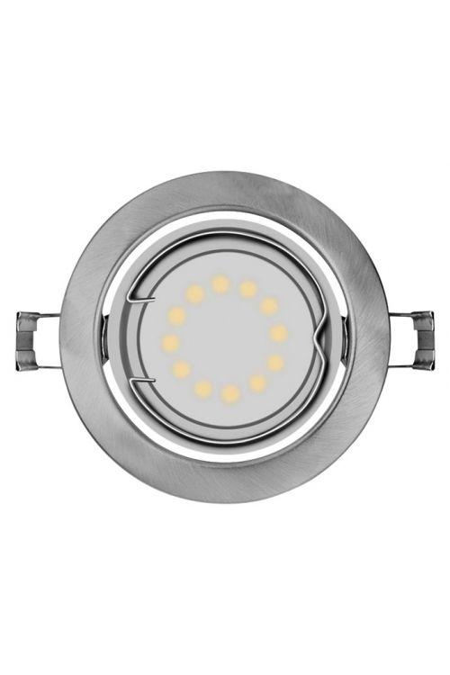 Set vgradnih LED-svetilk Osram (3 x 3 W, mat nikelj, kovina, energetski razred: A+)