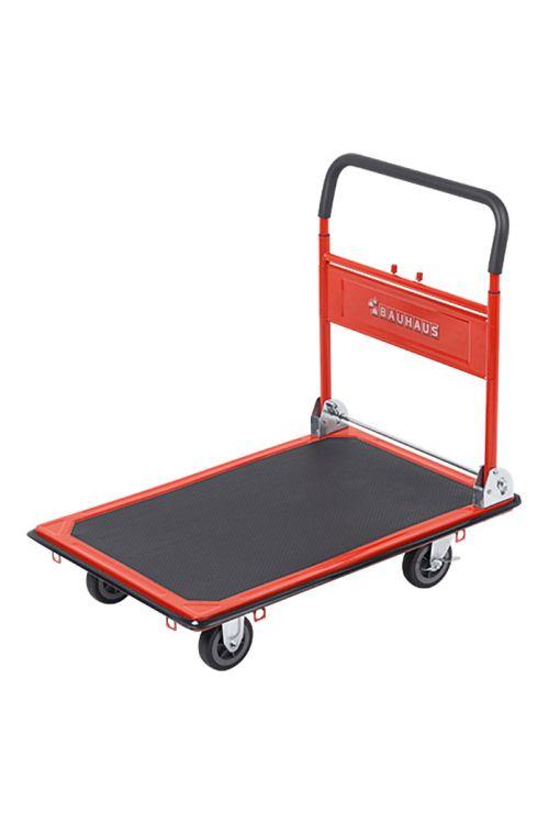 Voziček s platformo BAUHAUS (jeklo, nosilnost: 300 kg, zložljiv)
