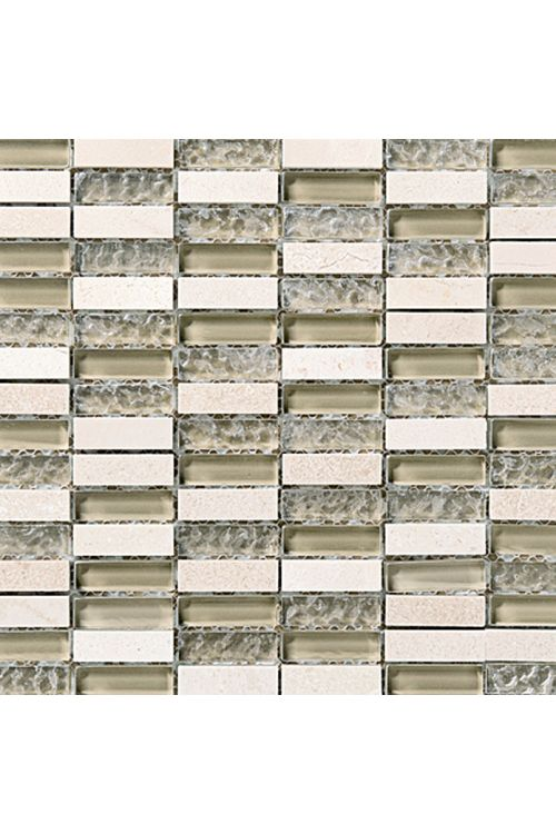 Stenski mozaik Palazzo Natura (30 x 30 cm, bež, sijoč)