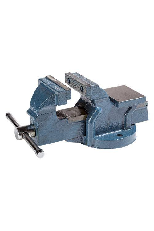 Namizni primež (75 mm, fiksen, iz litega železa)