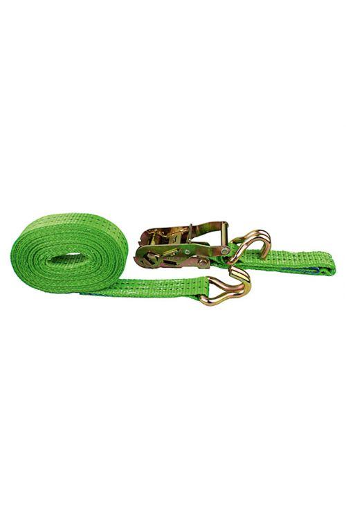 Natezalni pas Conacord (6 m x 3,5 cm, nosilnost: 1.000 kg, dvodelen, z ragljo, zelen)