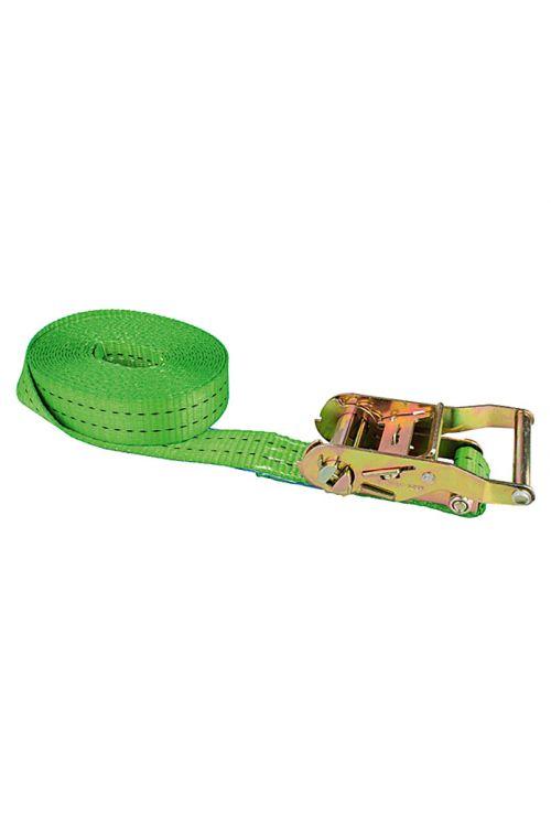Natezalni pas Conacord (6 m x 3,5 cm, nosilnost: 1.000 kg, enodelen, z ragljo, zelen)