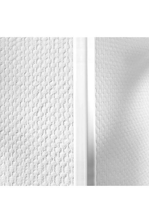 Kotna letev LOGOCLIC (bela, 2,75 m x 10 mm x 10 mm)