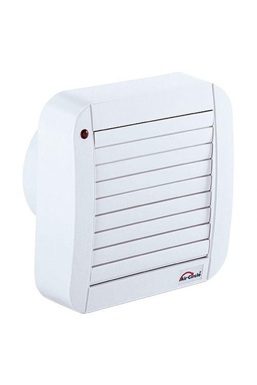 Ventilator Air-Circle Air-Style 100 (Ø 100, bel, pretok zraka do 90 m3/h, 39 dB, žaluzija, časovnik)
