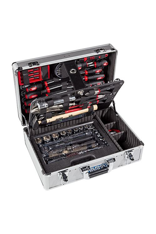 Kovček z orodjem Alpha Tools Big Box (119-delni, ¼″)