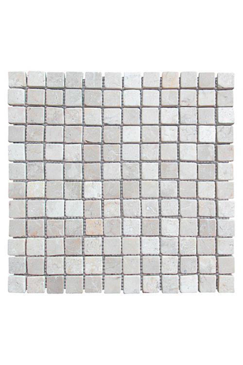 Mozaik ploščice Thumbnail (30 x 30 cm, kremna/bela, mat)