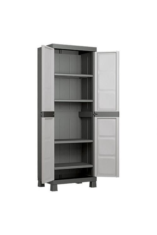Plastična omara Regalux Systema, visoka (45 x 65 x 182 cm, nosilnost: 15 kg/polico)