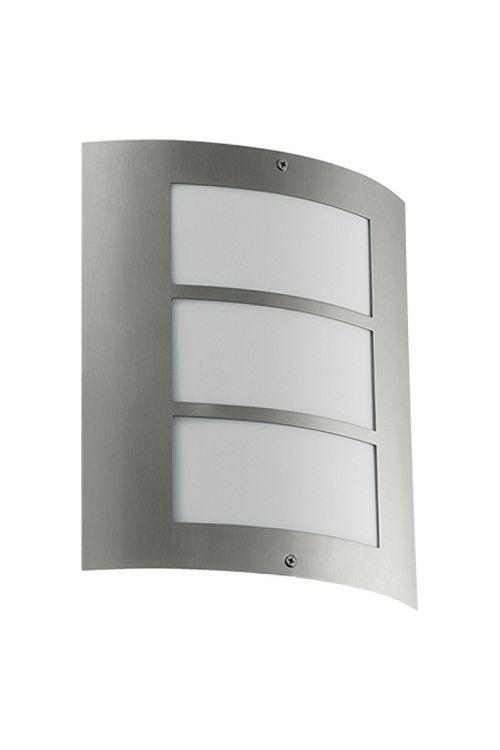Zunanja svetilka Starlux City (15 W, srebrna, energetski razred: A++ do B)