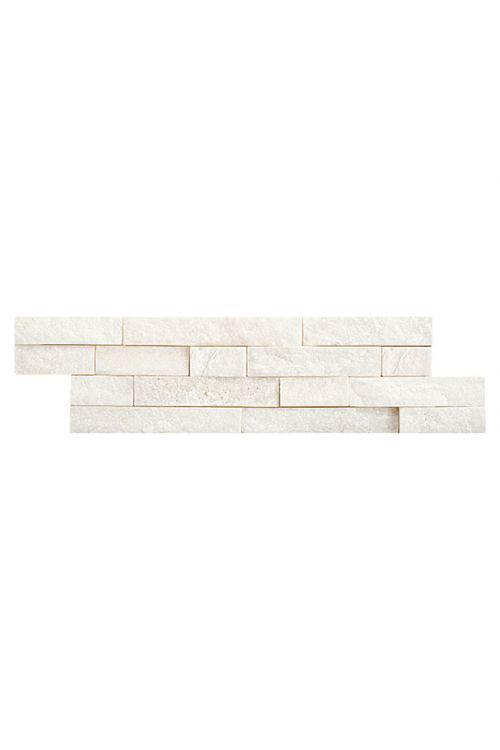 Naravni kamen Brick, Palazzo Ambiente (10 x 40 cm, bela, mat)