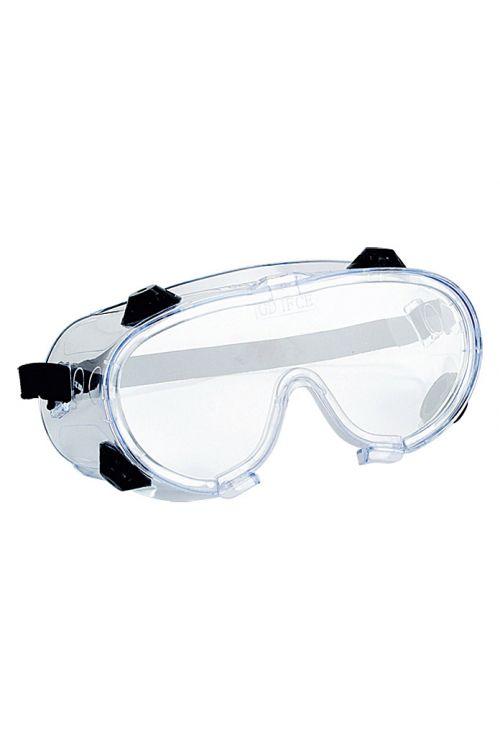 Zaščitna očala pred prahom Wisent (prozorna, z ventilom)