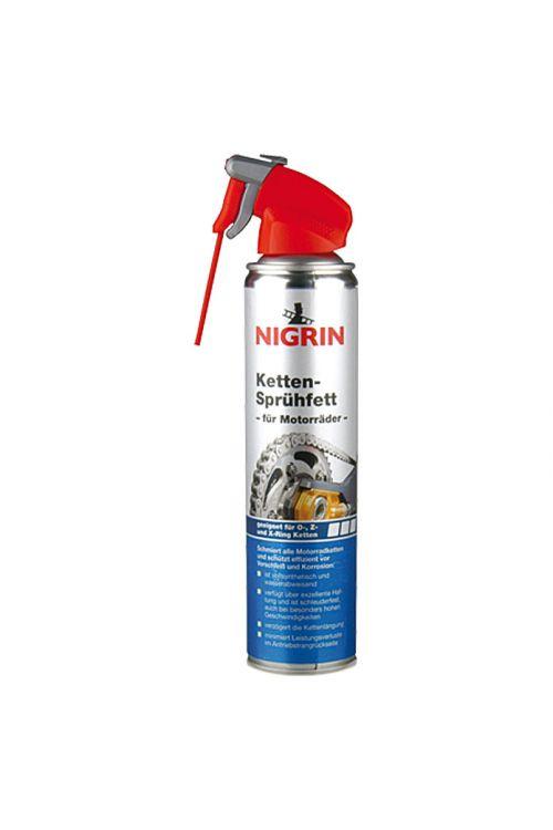 Razpršilna mast za verige, Nigrin (400 ml, za: pogonske verige z O-, Z- in X-obroči)