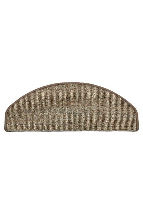Preproga za stopnice Astra Sisal (60 x 25 cm, sisal, konjak)