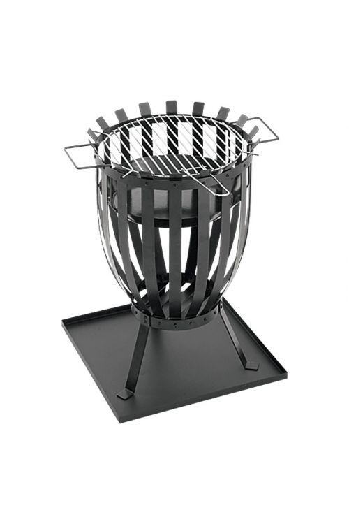 Žar košara GRILLSTAR Reno (Ø 35 cm, črne barve)
