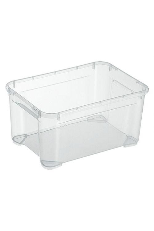 Prozoren zaboj za shranjevanje Regalux Clear Box XXS (4l, 25,6 x 18,1 x 13,6 cm)