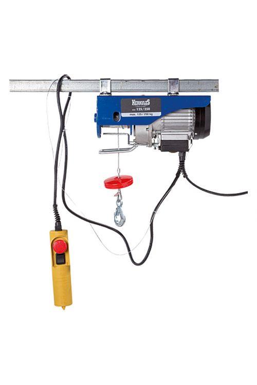 Električno vrvno dvigalo Herkules SHZ 125/250 (250 kg s preusmerjevalnim valjem, 500 W, 2,2 A)