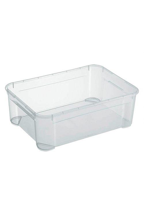Prozorni zaboj za shranjevanje Regalux Clear Box M (31l, 54,8 x 38,4 x 18,9 cm)