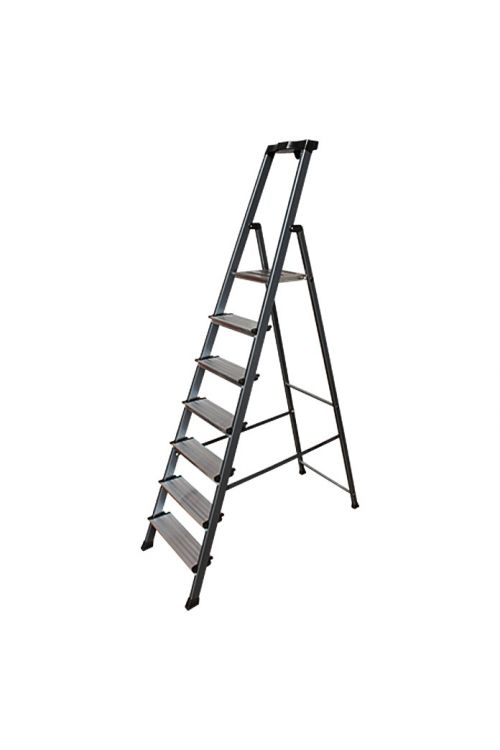 Aluminijasta lestev KRAUSE 6+1 (delovna višina: 3,5 m, nosilnost 150 kg)