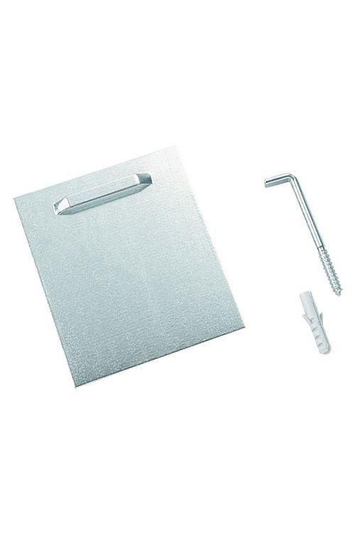 Nosilec za ogledalo Kristall-Form (10 x 80 cm, za lepljenje, nosilnost 2,4 kg)
