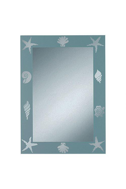 Ogledalo s sitotiskom Nemo, Kristall-Form (srebrna, 50 x 70 cm)