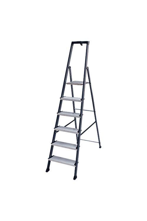 Aluminijasta lestev KRAUSE 5+1 (delovna višina: 3,25 m, nosilnost 150 kg)