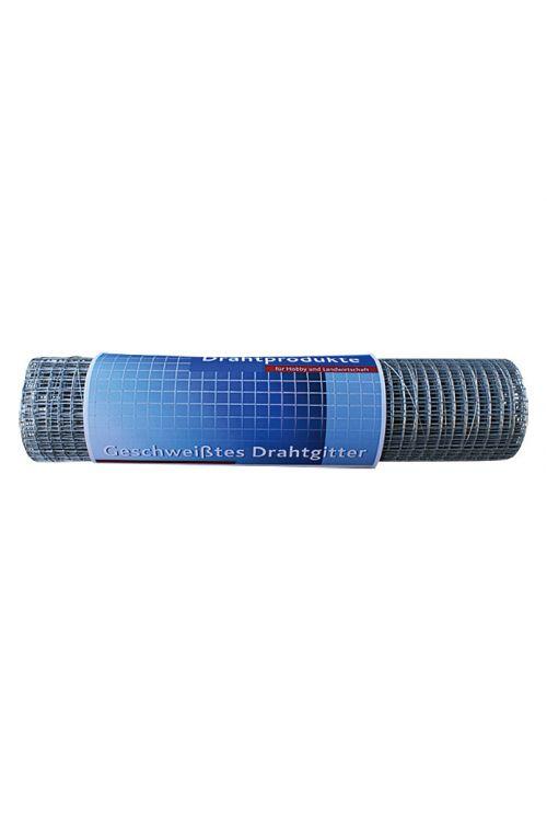Žična ograja Stabilit (5 x 0,5 m, širina zanke: 12,7 mm, srebrne barve, pocinkana)