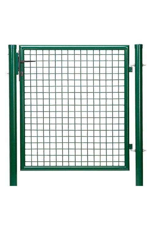Ograjna vrata Gardenfuchs (zelene barve, 1 x 1 m, kovina)