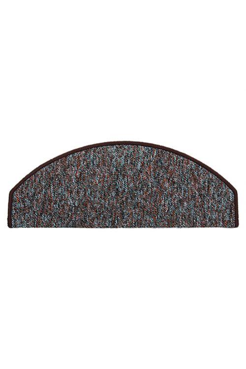 Preproga za stopnice Astra Camp (65 x 25 cm, 100-odstotni polipropilen, rjava)