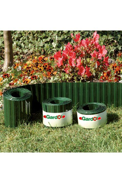 Obroba za trato Gardol (zelene barve, 9 m x 15 cm)