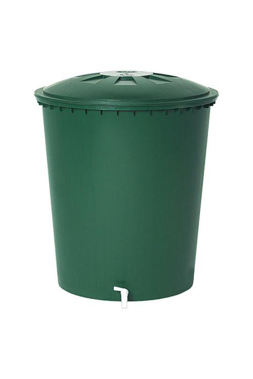 Kad za deževnico Garantia Basic Line (510 l, zelene barve, s pipo)